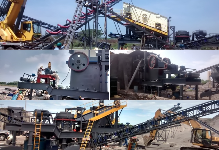 300TPH Granite Crushing Plant In Mexico