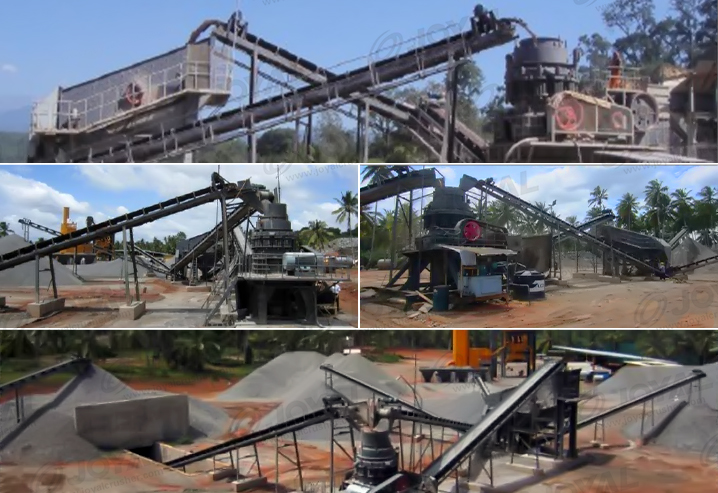 100TPH Granite Crushing Plant In Sri Lanka