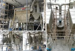 5tph Calcite powder grinding line in Vietnam
